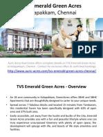 TVS Emerald Green Acres Kolapakkam Chennai