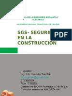 SSGS- Seguridad en la Construcción