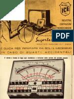 Manuale Tester ICE 680R V Serie LQ - ITALIAN