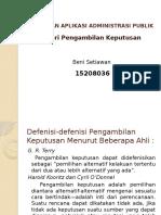 Power Point Teori Pengambilan Keputusan.pptx