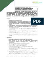 Staff Code of Practice Experience Medicine Summer School 2016
