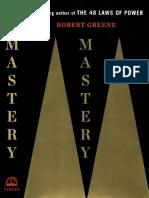 Robert Greene Mastery