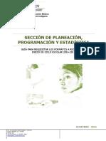 Guía Para Requisitar Los Formatos de i.c. 2016-2017