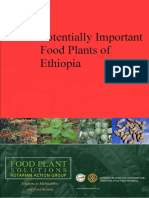 Potentially Important Food Plants of Ethiopia V1 Draft