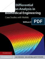 William E. Schiesser-Partial Differential Equation Analysis in Biomedical Engineering_ Case Studies With Matlab-Cambridge University Press (2012)