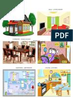 Casa y Partes de La Casa Ingles y Español22