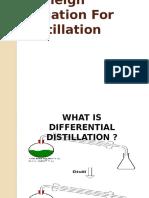 Rayleigh Equation for Distillation