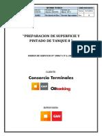 Informe Tecnico Tanque 8