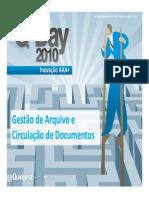 Gestão de Arquivo e Circulação de Documentos BG