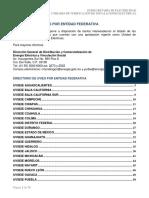 Directorio de UVIEs Por Entidad Federativa 18-01-2016