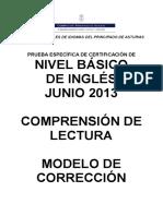 ING Basico ComprensionLectora JUN2013 Corrector