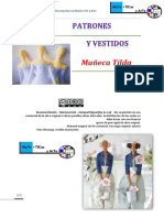 Patrones Muñeca Tilda