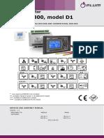 EcoMAX 800 D1 DTR Wydanie 1.2 En