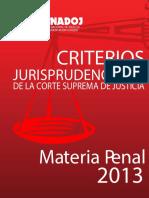 Criterios de La Csj en Materia Penal