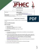 Datos Primera Asignacion Forense III. Anibal Santillan