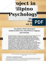 Project in Filipino Psychology MaryGen
