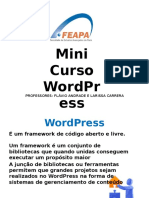 Mini Curso WordPress FEAPA