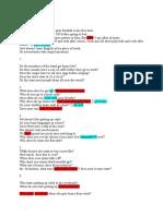 Homework Check Present Excercises