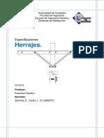 Epecificaciones Herrajes, Crucetas Torillo de Carruaje Etc...