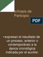 Perífrasis de Participio
