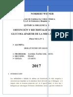 Informe 1 Organica II