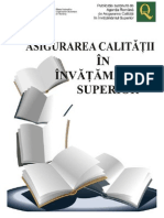 Asigurarea Calitatii in Invatamantul Superior