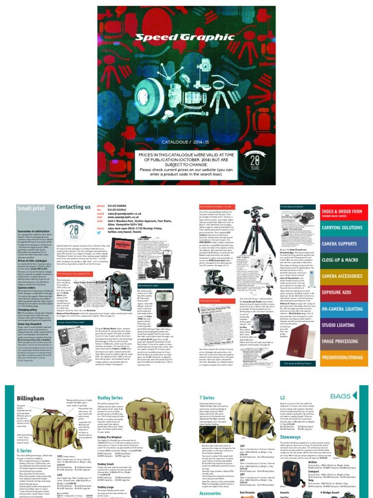 Web Catalogue 2014 15 Digital Single Lens Reflex Camera Backpack Canon Remote Controller Wiring 25mm Miniplug And N3 Plug