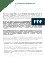 Instrucciones de la AEAT Sobre Gestión de Aplazamientos y Fraccionamientos de Pago