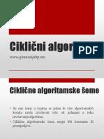 5- Ciklicne Algoritamske Seme