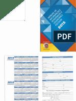 Manual de Informacoes Academicas e Calendario Escolar 2015 Oficial Escaneado