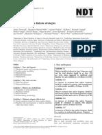 European Best Practice Guidelines on Dialysis Strategies 2007