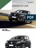 Catalogo Renault Sandero GT Line