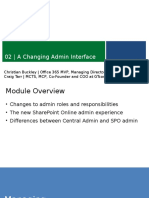 MVA-Course-Managing on Prem vs Online_Module 2-A Changing Admin Interface