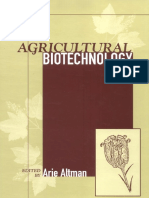 (Books in Soils, Plants, And the Environment) Arie Altman-Agricultural Biotechnology (Books in Soils, Plants, And the Environment) -CRC Press (1997)