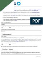 Oco Complaint Form 18208
