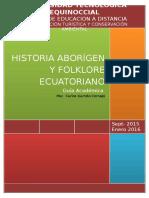 Guia Académica Historia Aborígen y Folklore