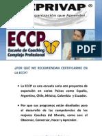 PORQUÉ CERTIFICARTE  COMO  COACH  EN LA ECCP