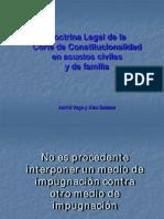 Doctrina Legal de La Corte en Asuntos Civiles y Familia Astrid Vega y Alex Salazar