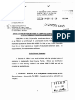 Application to Transfer Settlement Payment Rights