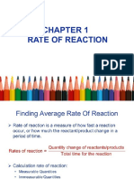 Spm f5 Chapter 1 Rate of Reaction by Wyhsiung