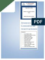 Avances de La Comisión de Reservaciones