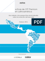 Prospects for Premium OTT in LATAM 2016 Spanish