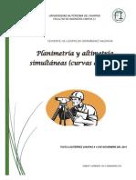 Planimetria y Altimetria Simultaneas