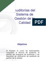 Auditorías Del SGC
