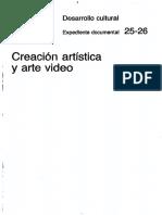 Creacion Artistica, Arte y Video Rene Berguer