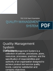 Dave John Mike Quality Management Systems PPT 03