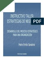 Instructivo Taller Proceso Estratégico (Ampliado)