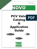PCV valvulas catalogo
