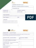 Assignment 2 Frontsheet C#