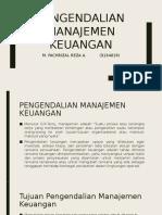 Pengendalian manajemen keuangan